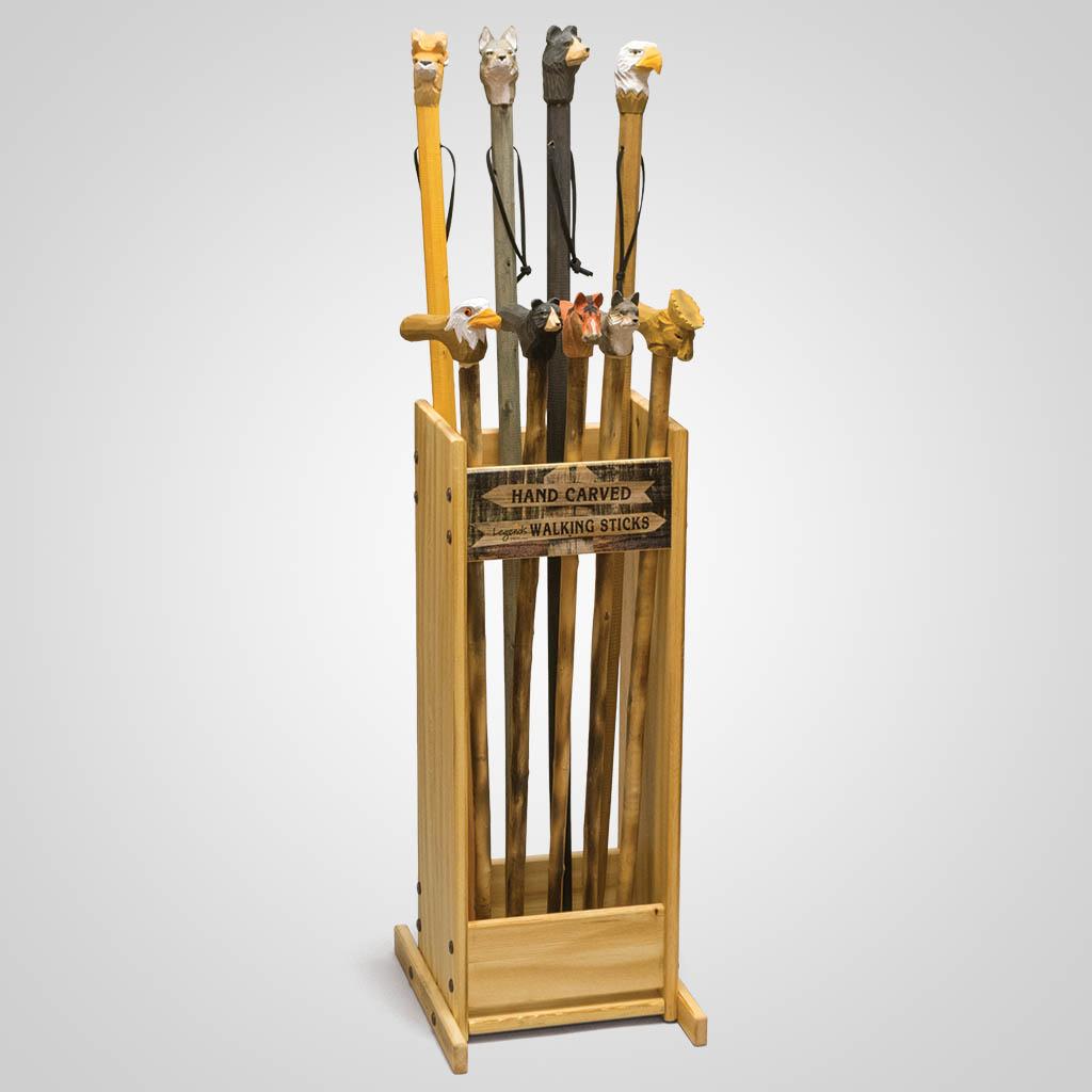 81094UN - Walking Stick & Cane Display Unit