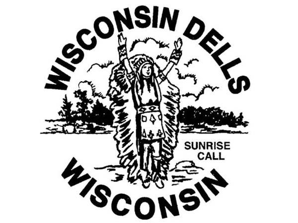 DD0105 - Indian Sunrise Wisconsin Dells Drum Design