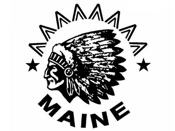 DD0112 - Indian Chief Maine Drum Design