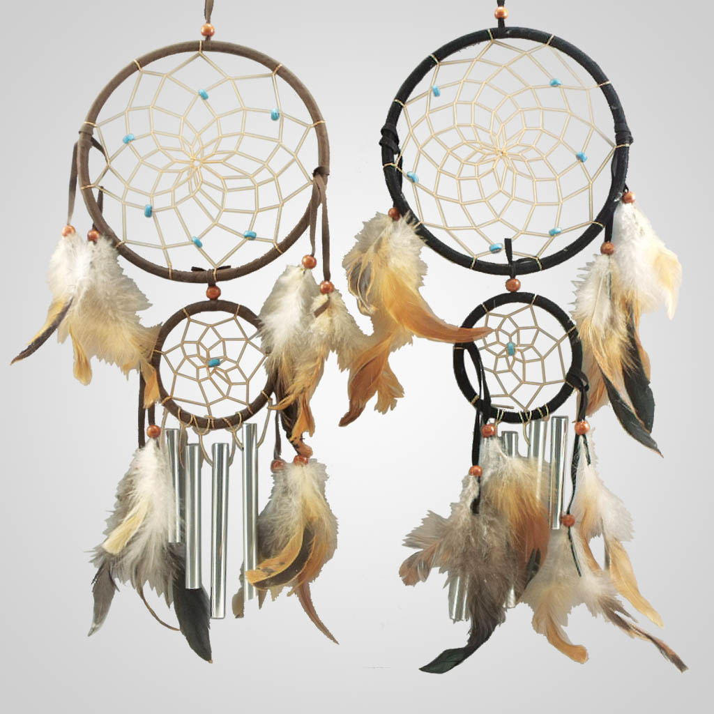 16312 - Two Ring Chimes Dreamcatcher