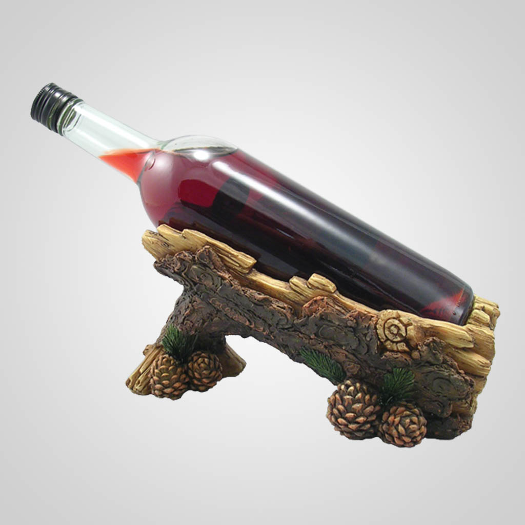 17288 - Pine Branch Wine Bottle Holder