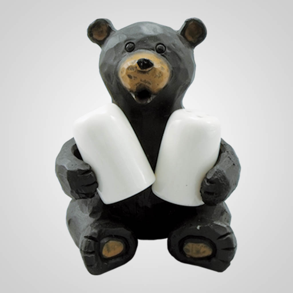17405 - Salt & Pepper Holder Bear