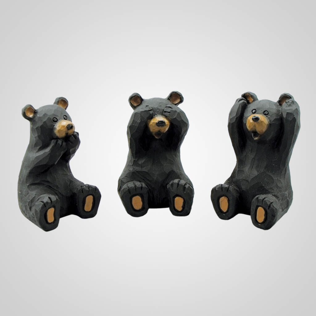 17411 - Hear, See, Speak No Evil Bears