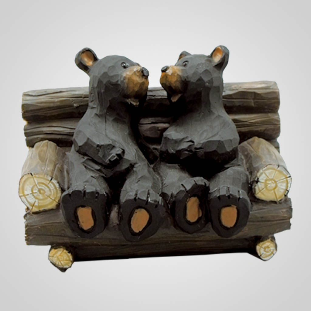 17421 - Bear Couple on Bench