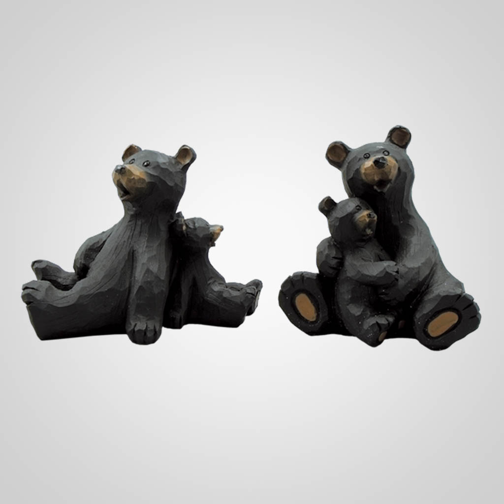 17425 - Mother Bear & Cub Figurine