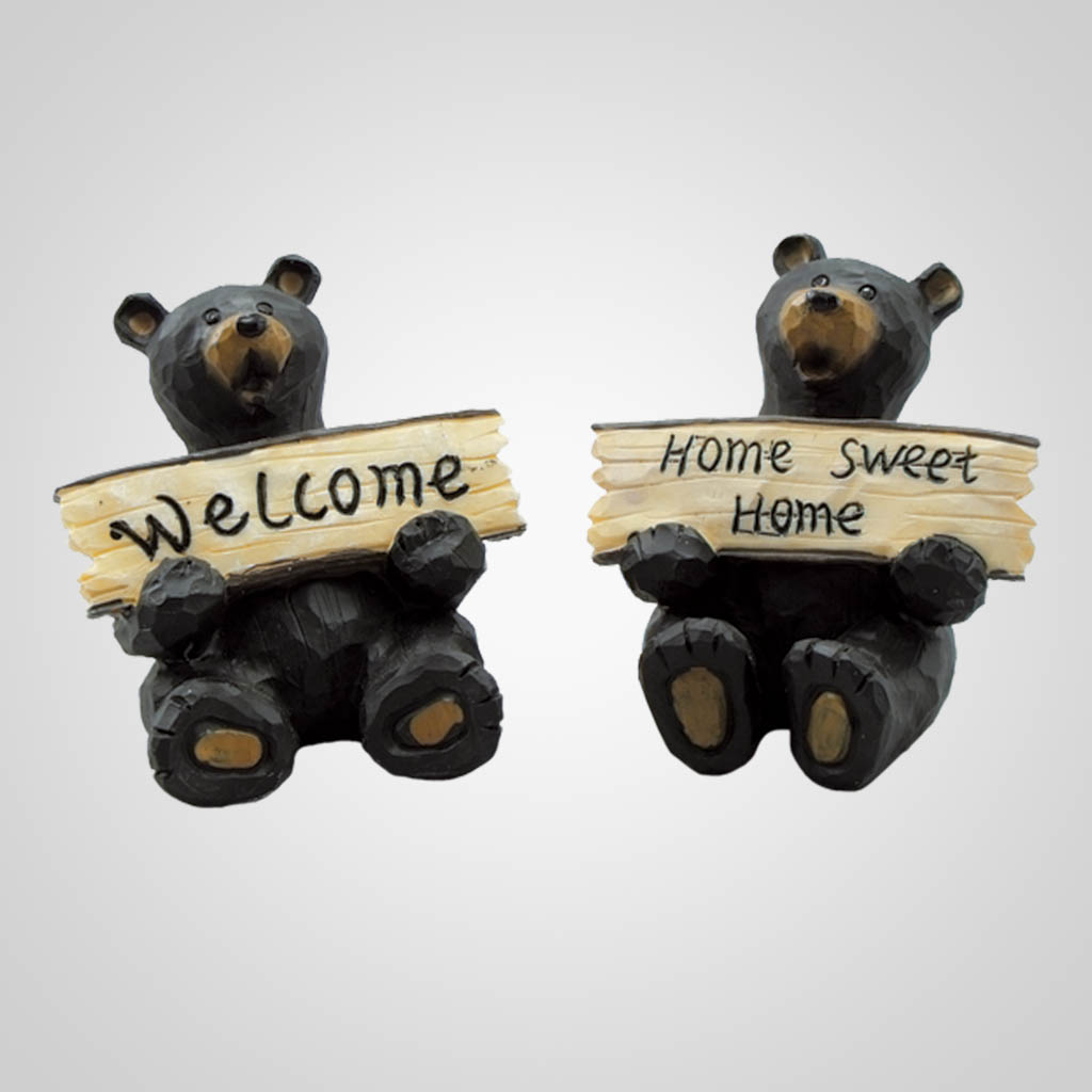 17430 - Bears With Signs