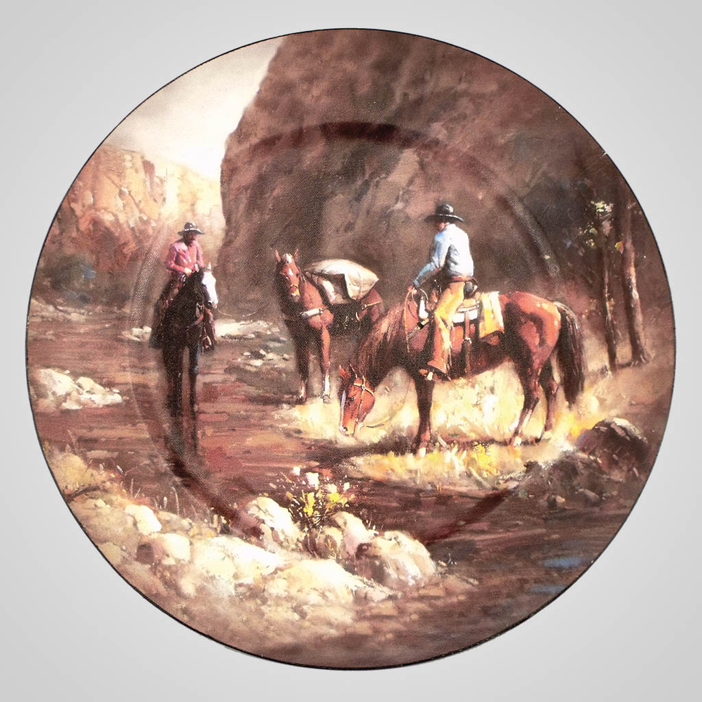 17506 - Horse Creek Painting Charger