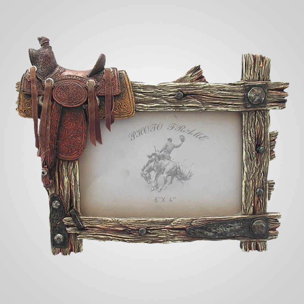 17589 - Saddle Photo Frame