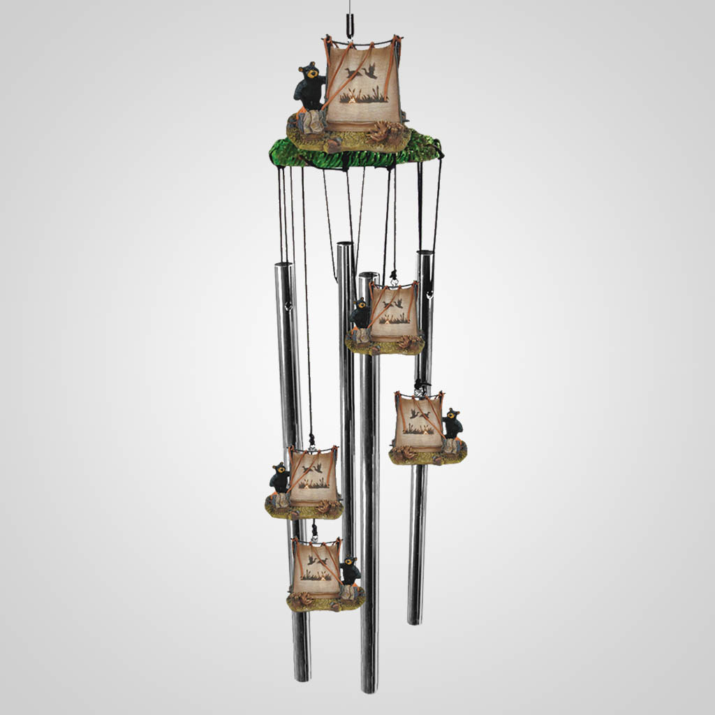 17595 - Bear Camp Wind Chime