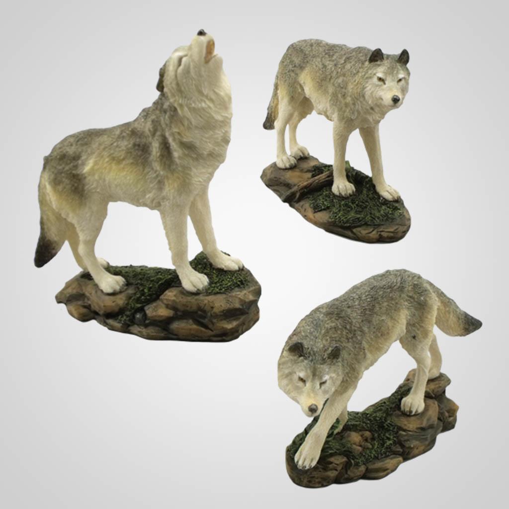 17723 - Wolf Figurine