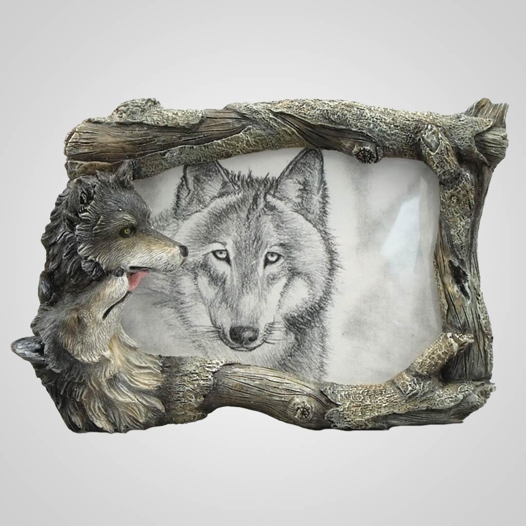17731 - Wolf Photo Frame