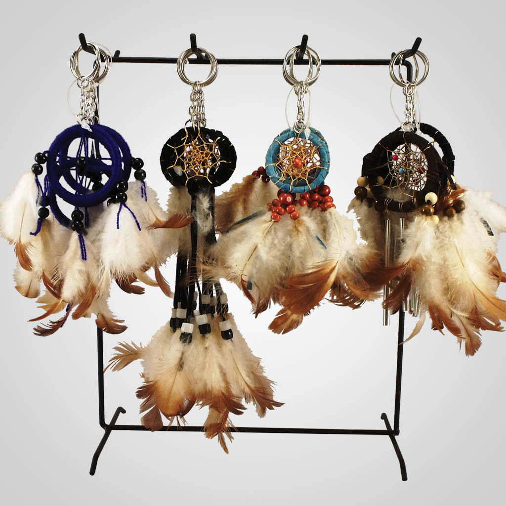 17759 - Dreamcatcher Keychains With Display