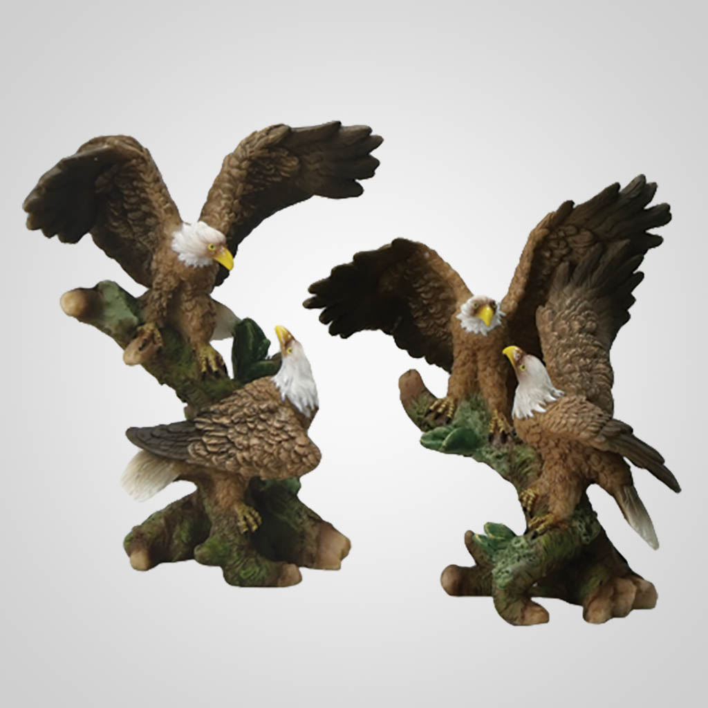 17809 - Perched Eagle Pair