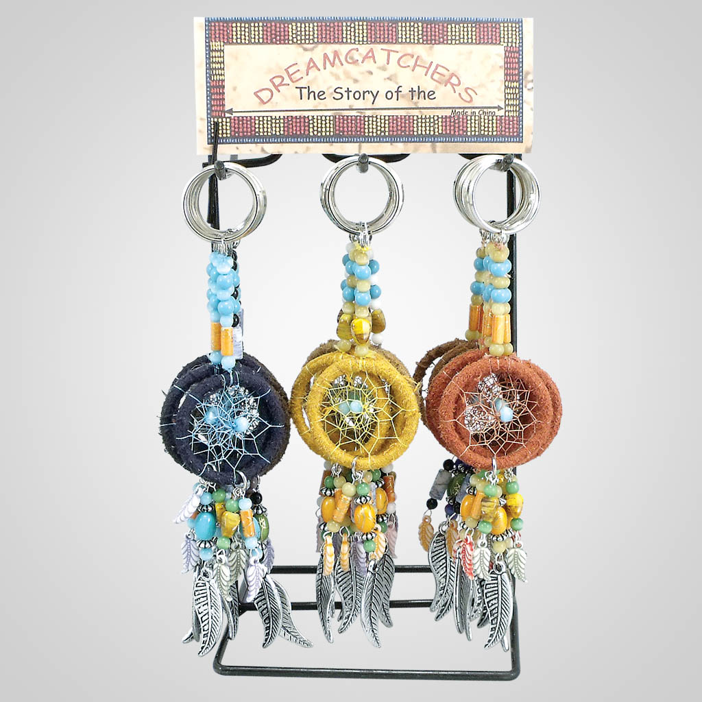 18146 - Dreamcatcher Keychains With Display