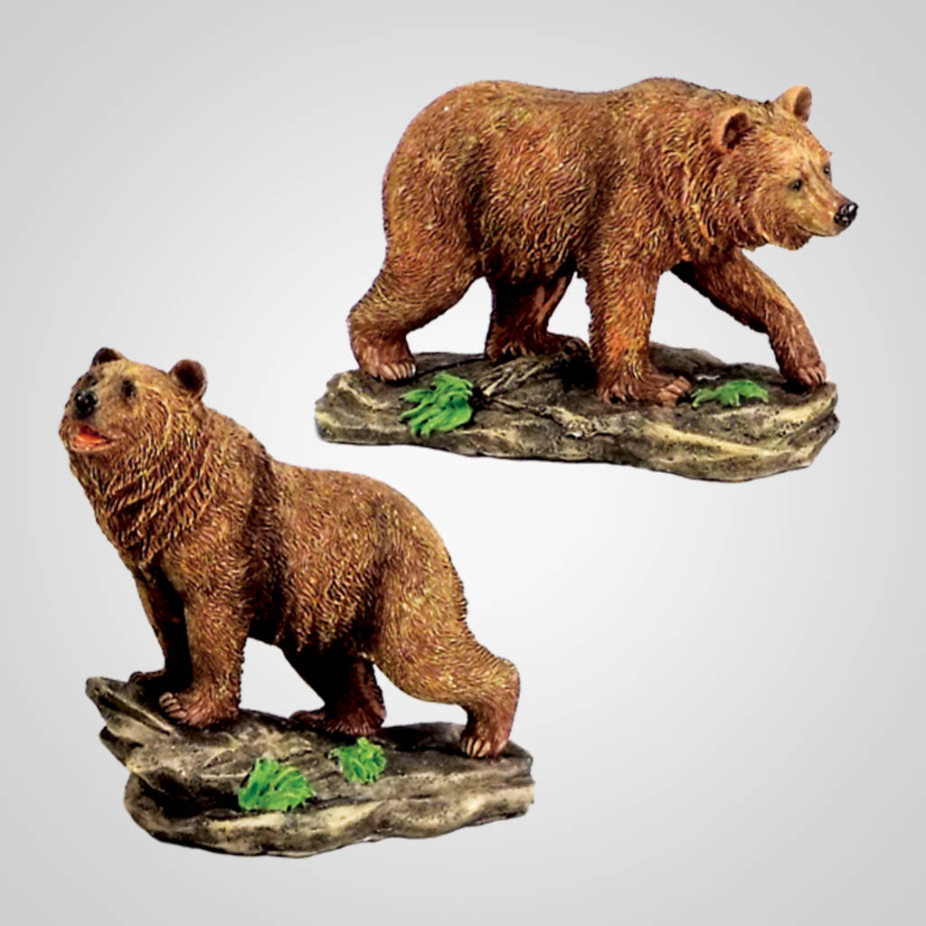 18253 - Grizzly Bear Figurines