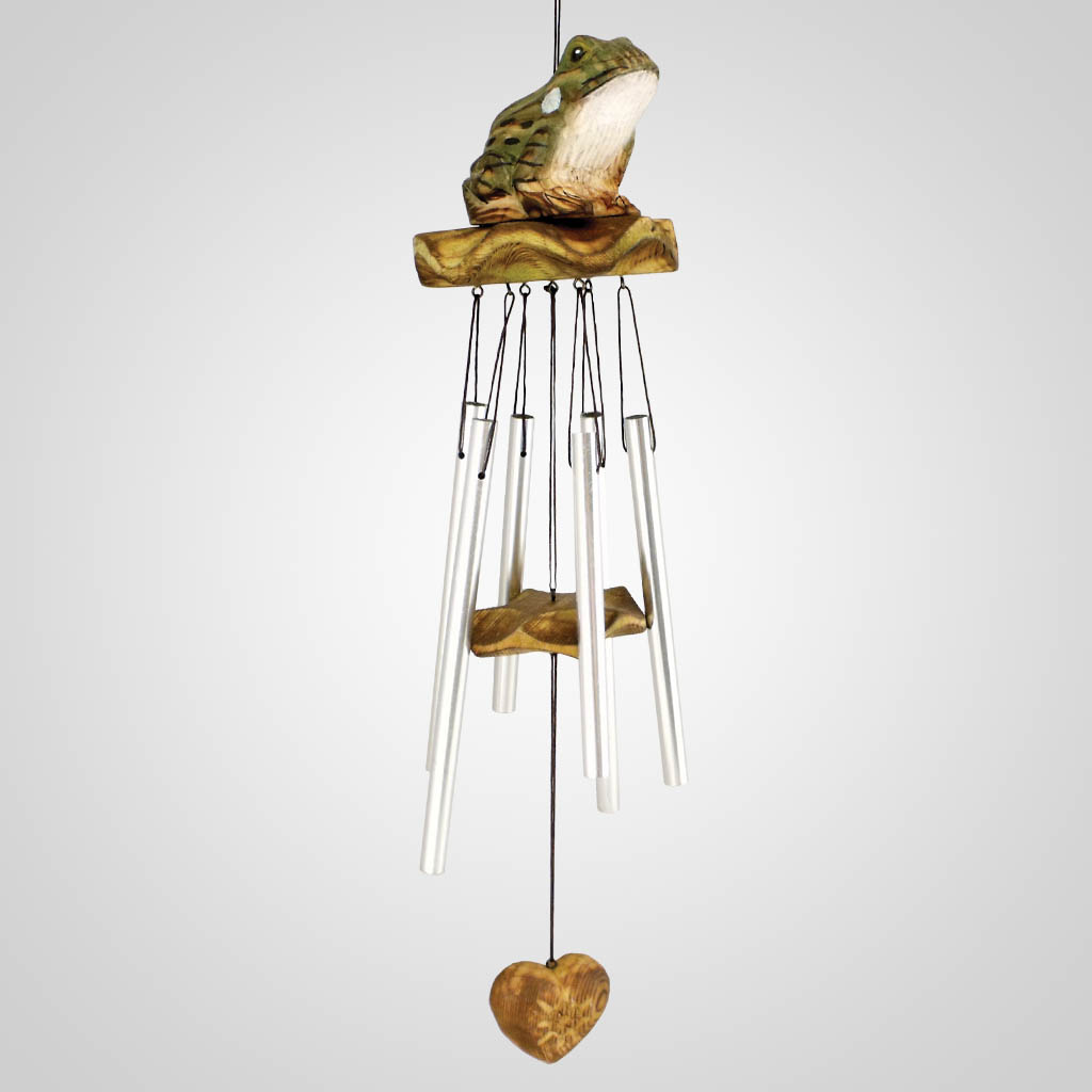 18357 - Wood Frog Wind Chime