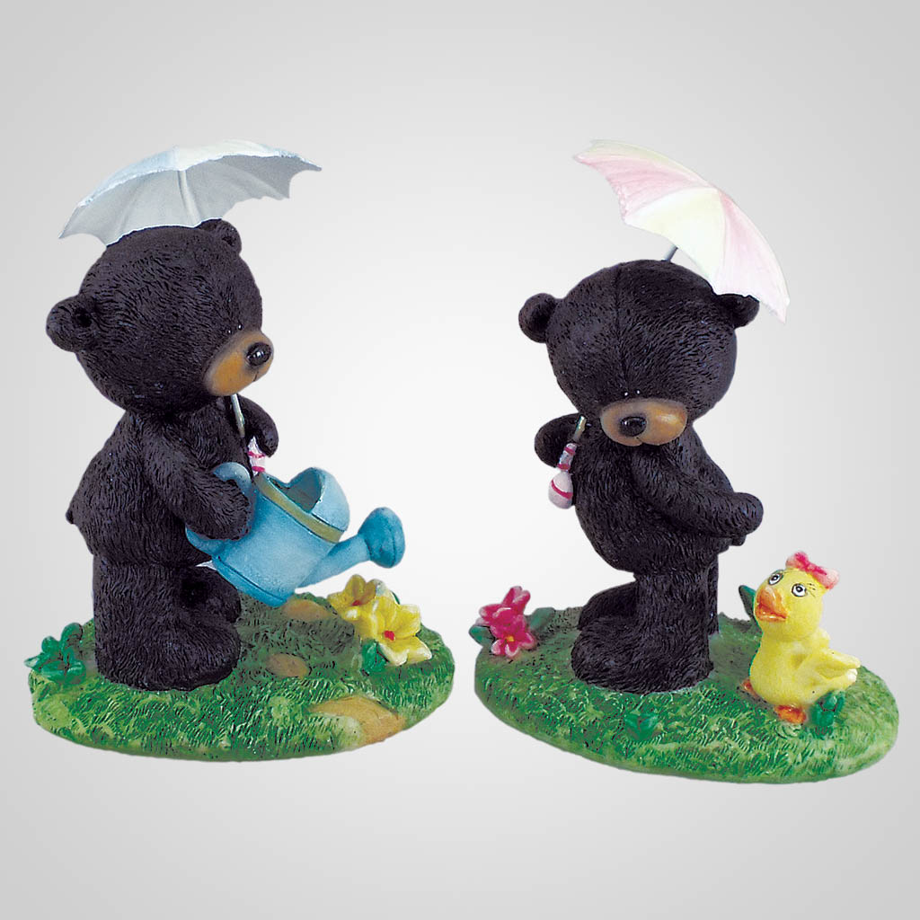18498 - Cute Umbrella Bears