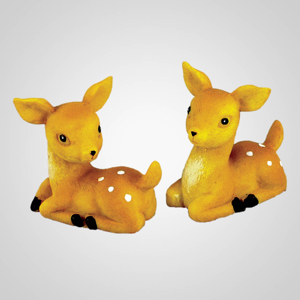 18499 - Cute Fawns Sitting