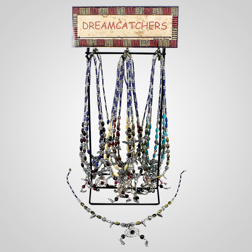 18558 - Dreamcatcher Necklace With Display