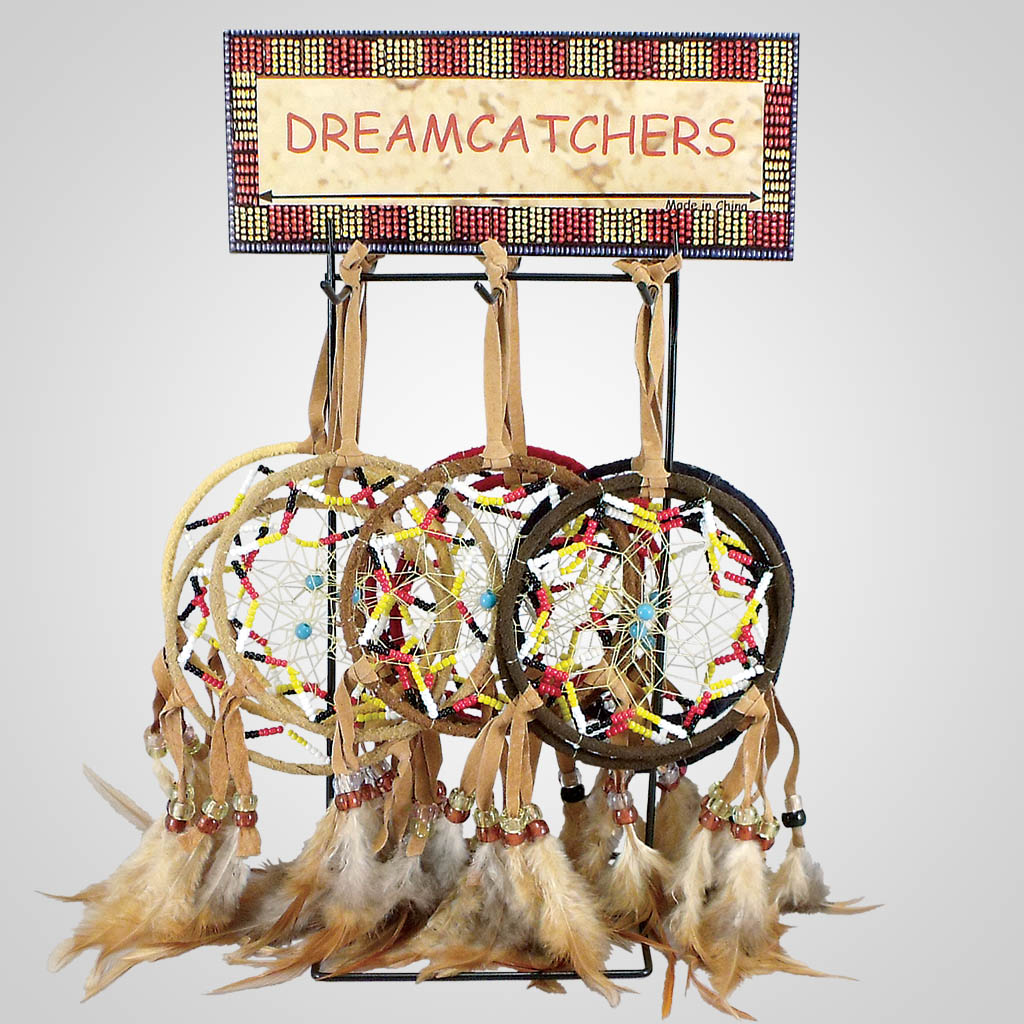 18559 - Beaded Dreamcatcher With Display