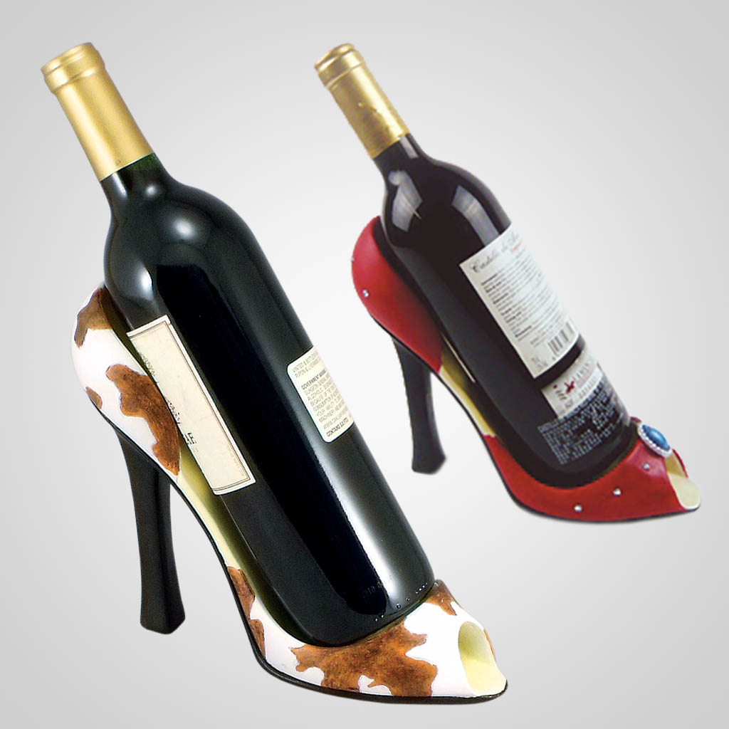 18588 - High Heel Wine Holder