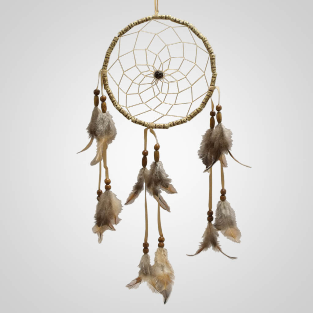 18819 - Beaded Hoop Dreamcatcher