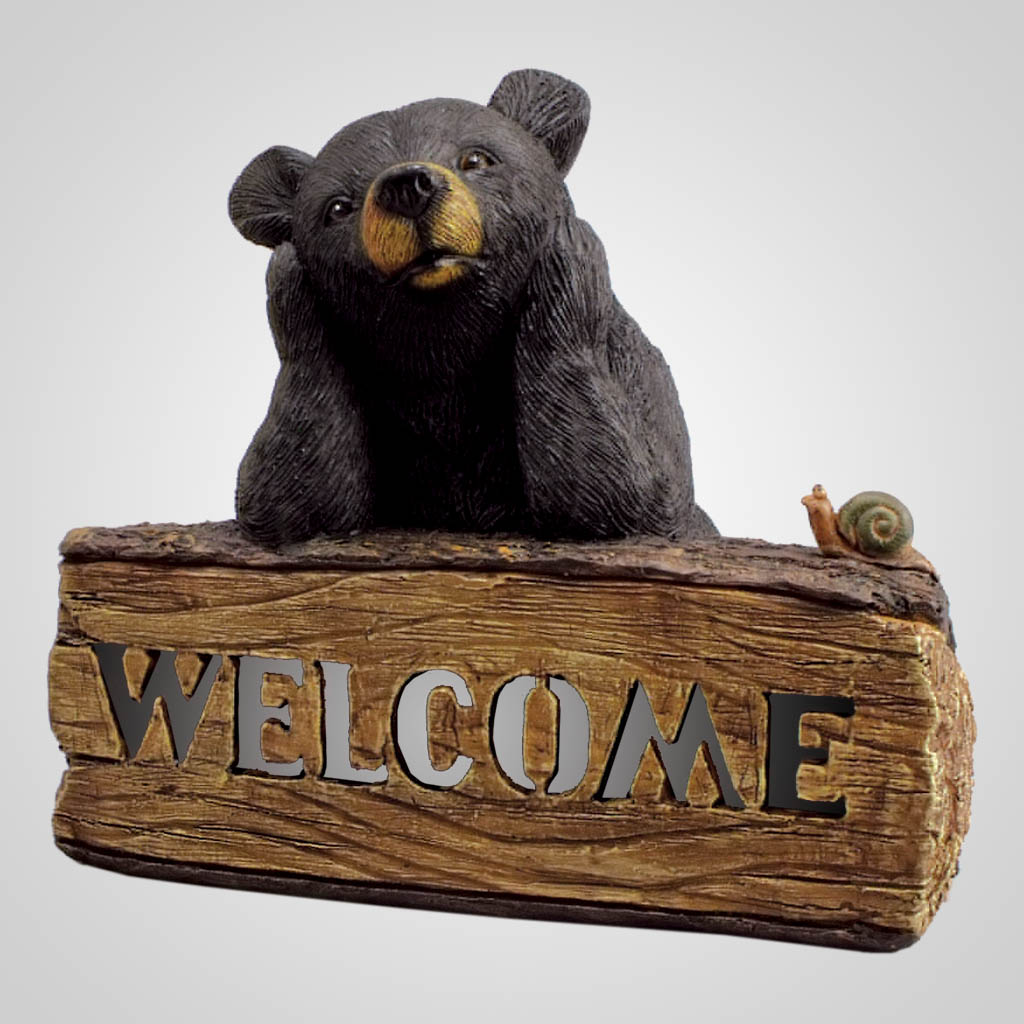 18940 - Solar Bear Welcome Sign