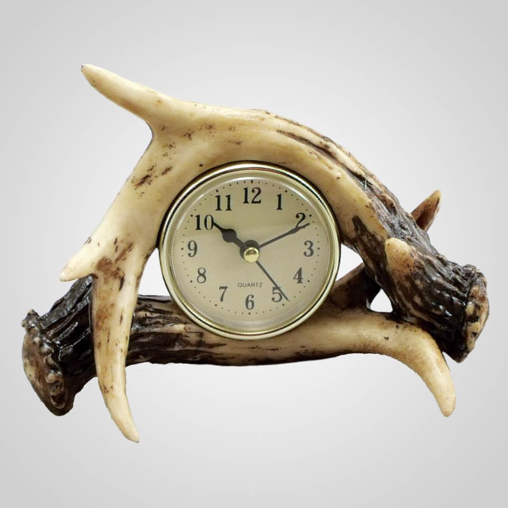 18947 - Antler Clock