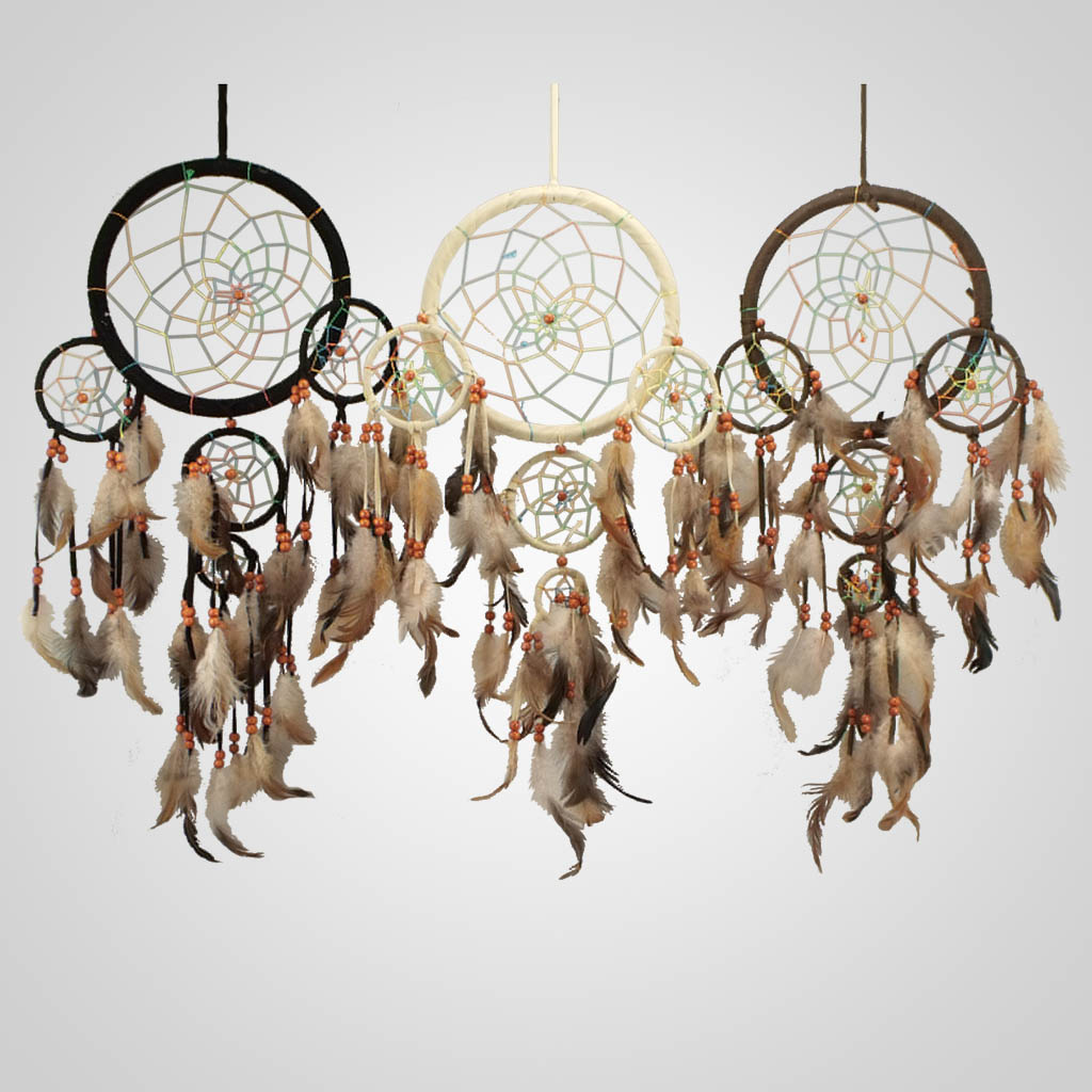 18954 - Large 5-Ring Dreamcatcher