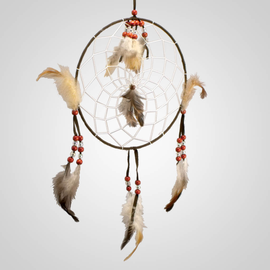 18959 - Red Beads Dreamcatcher