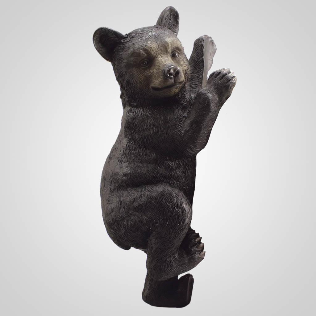 18961 - Bear Tree Climber Figurine