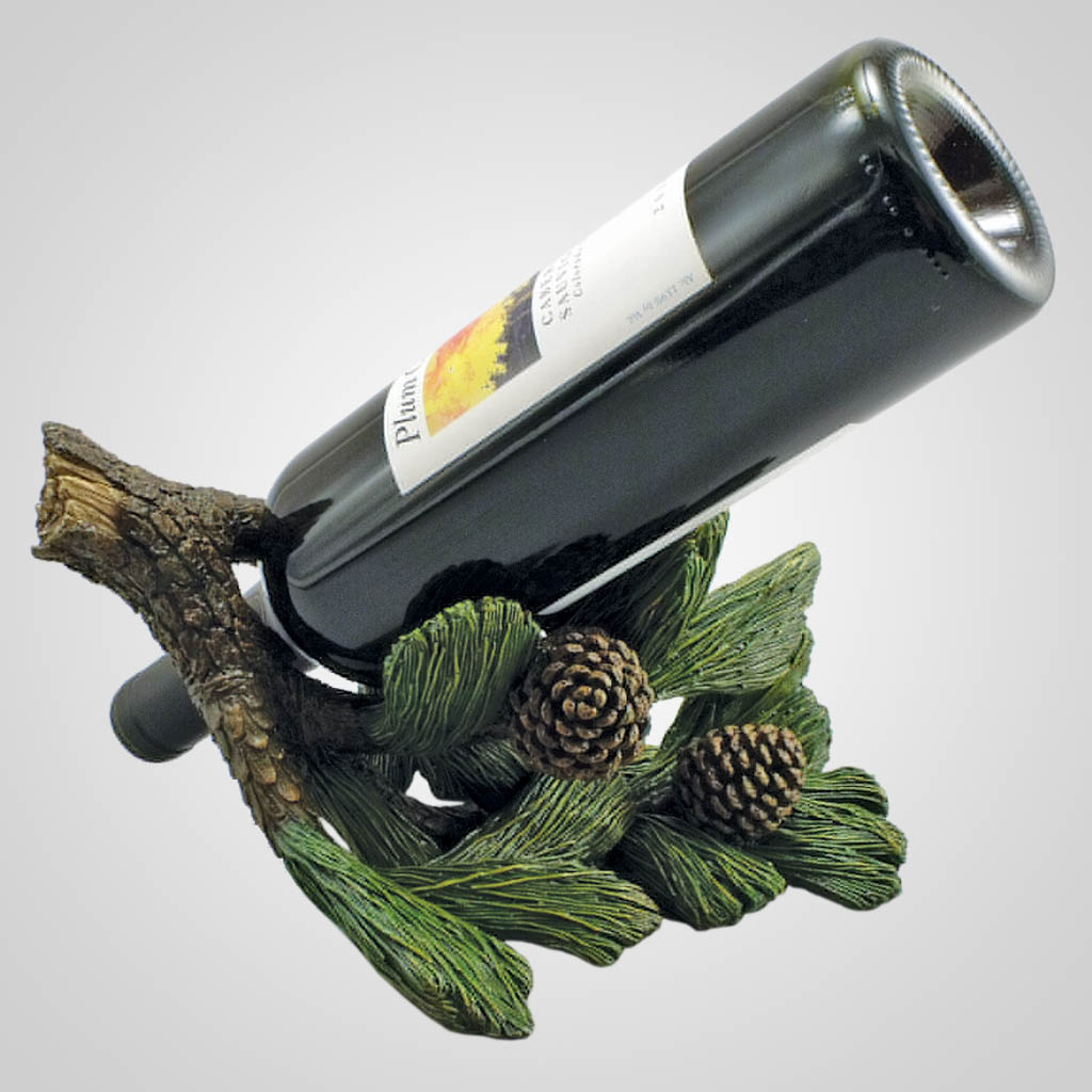 18982 - Pine Branch Wine Bottle Holder