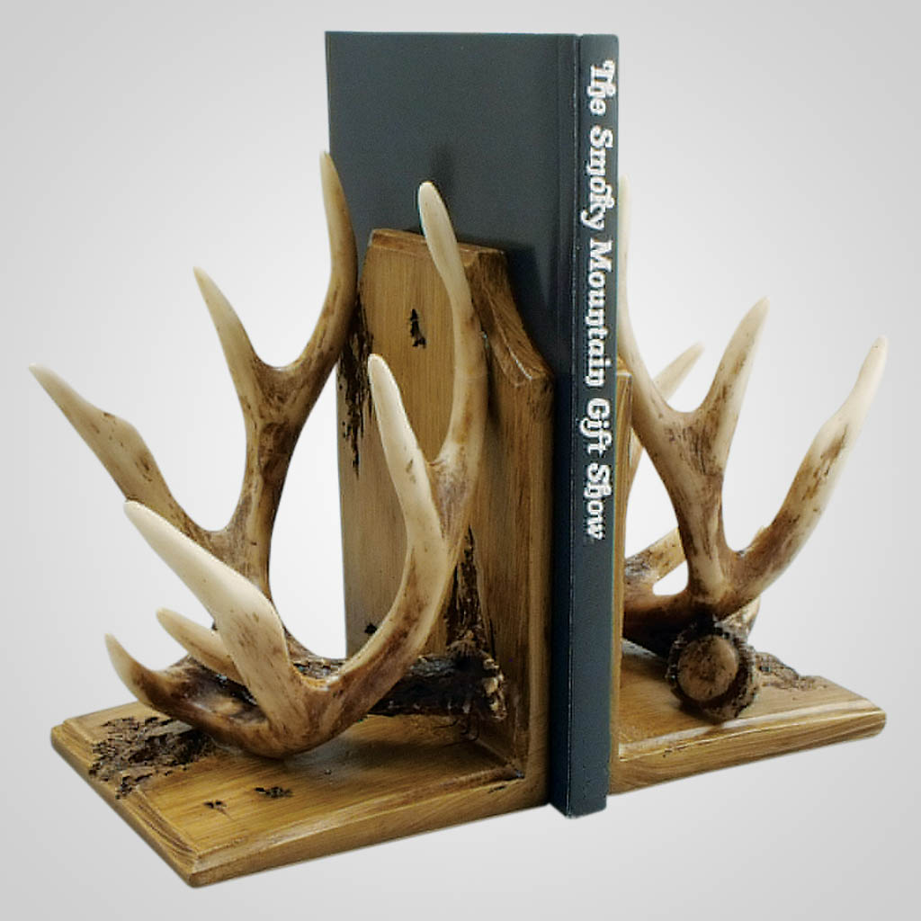 18989 - Antler Bookends (Pair)