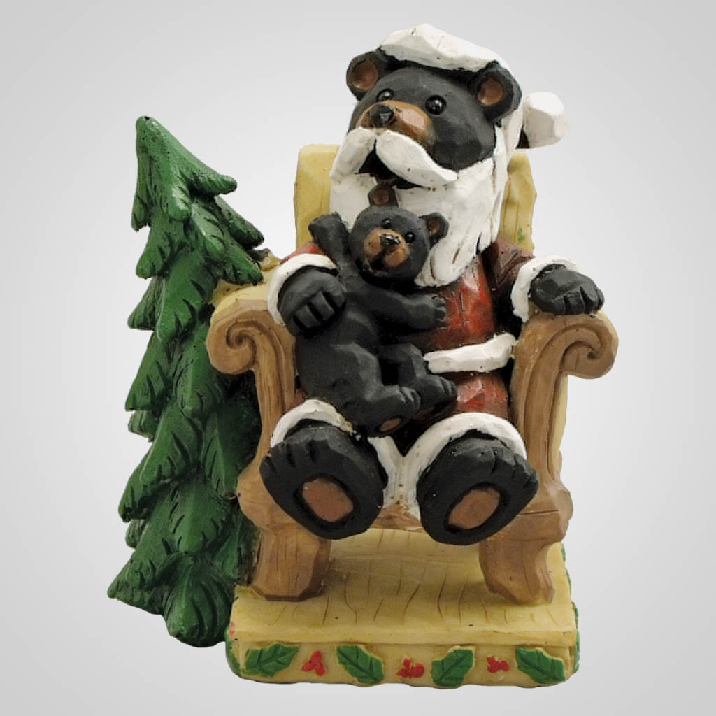 19036 - Santa Bear Figurine