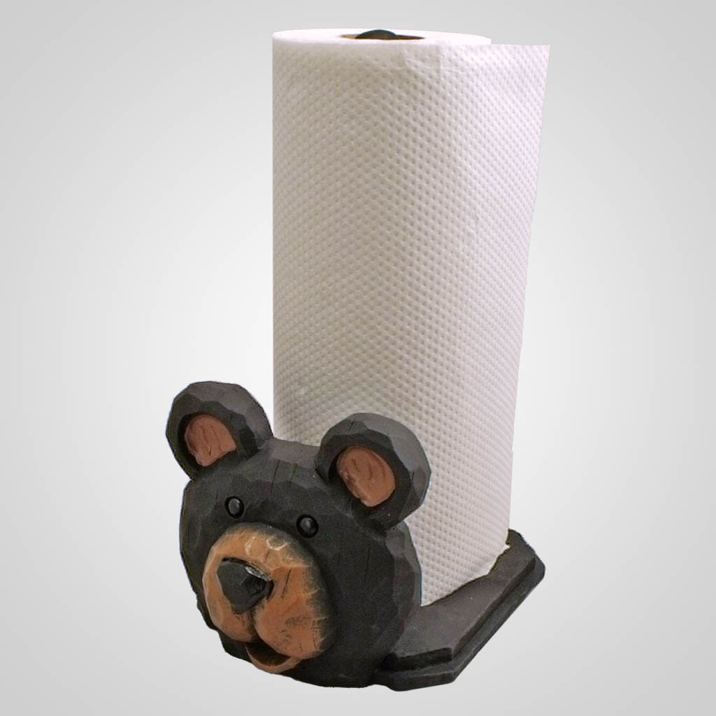 19049 - Bear Paper Towel Holder