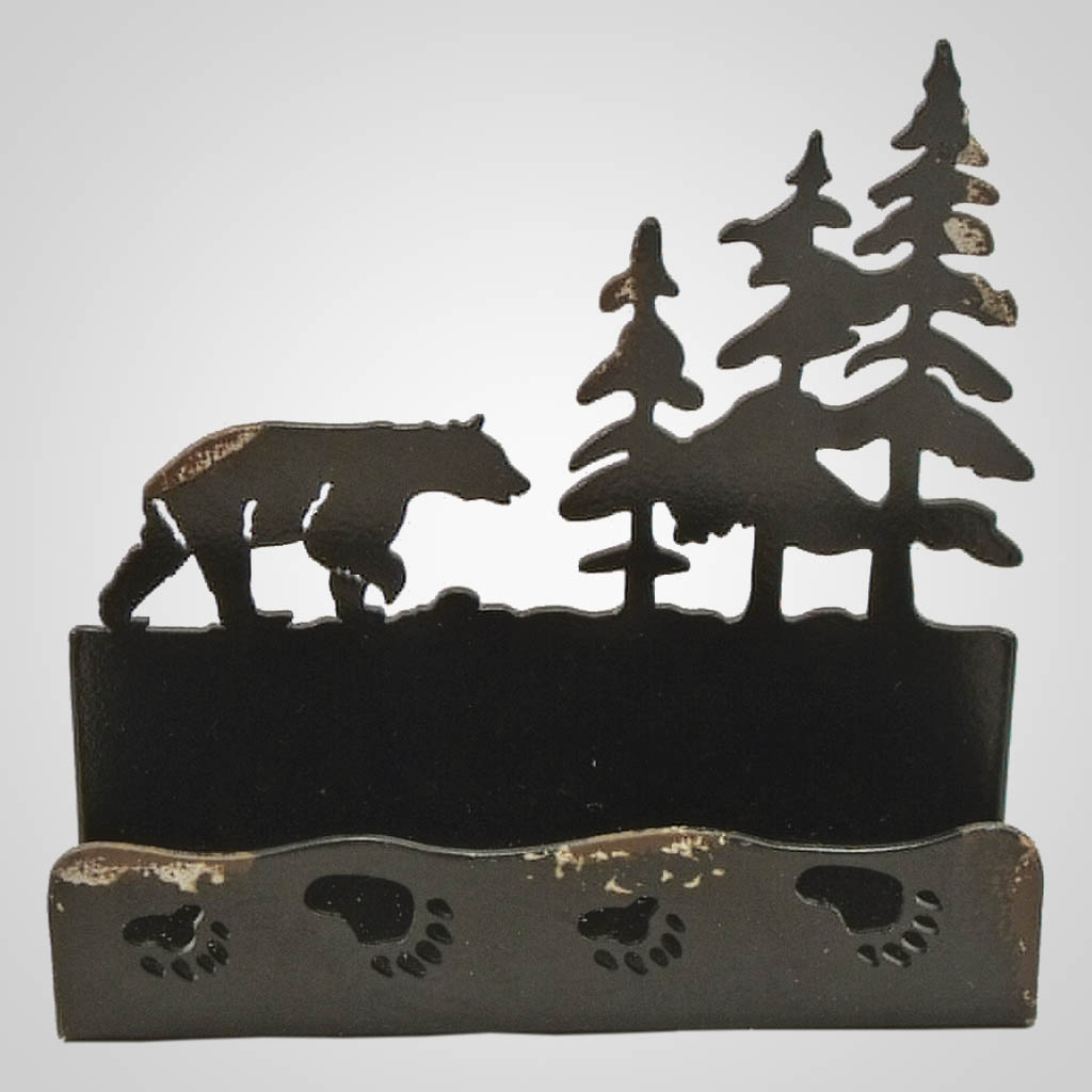 19072 - Bears Laser-Cut Metal Cellphone Holder
