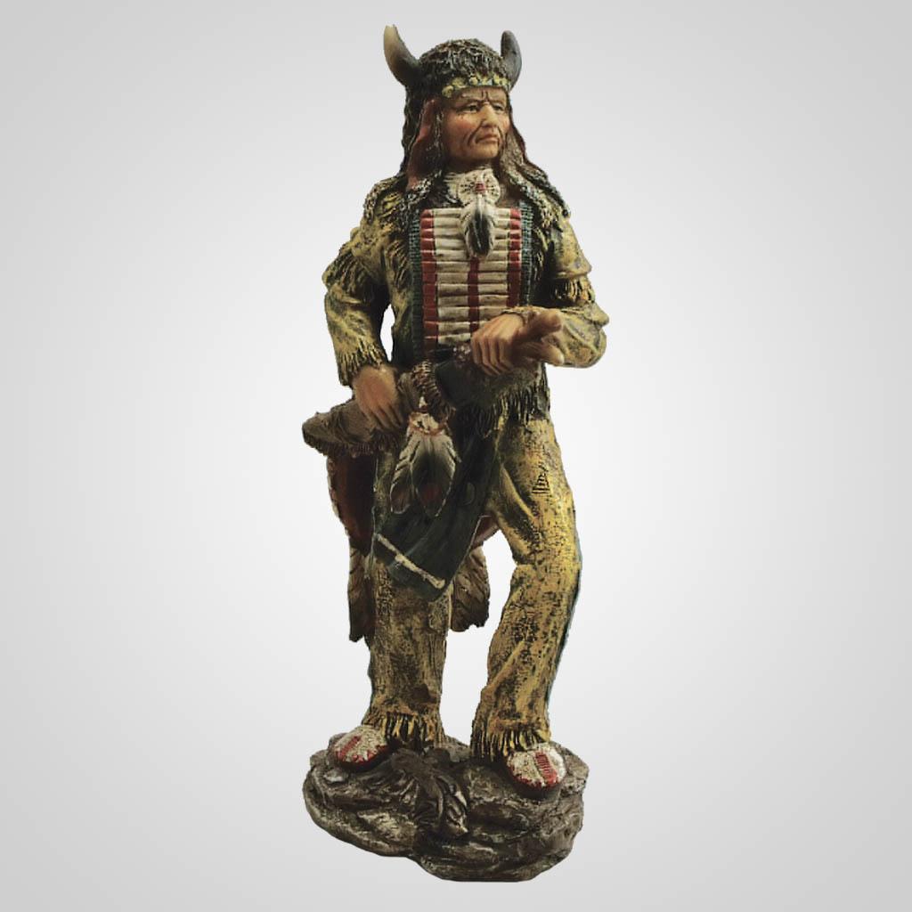 19088 - Buffalo Warrior Figurine
