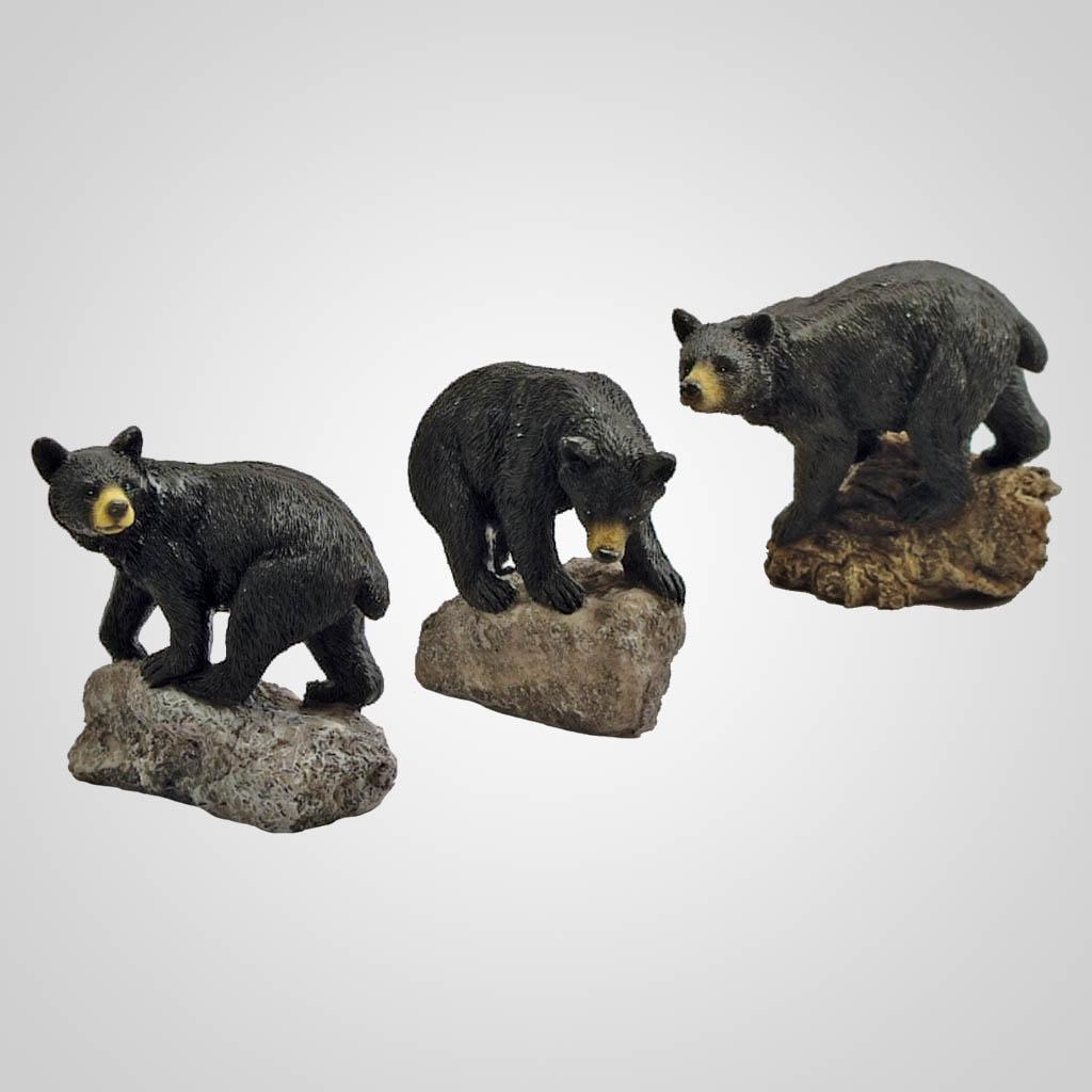 19095 - Bear On Rock