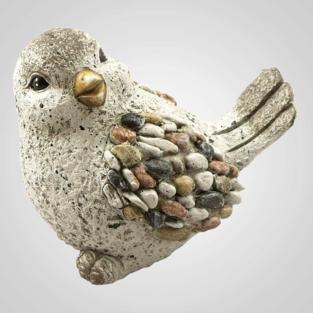 19100 - Pebble-Stone Garden Bird