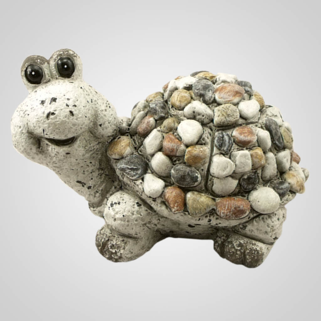 19102 - Pebble-Stone Garden Turtle
