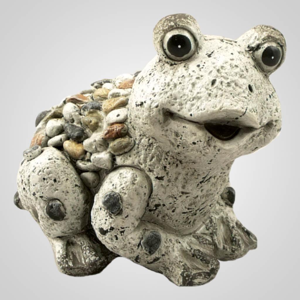 19103 - Pebble-Stone Garden Frog