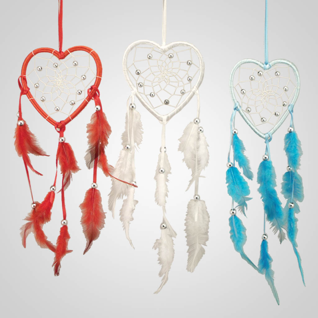 19111 - Heart-Shaped Dreamcatcher