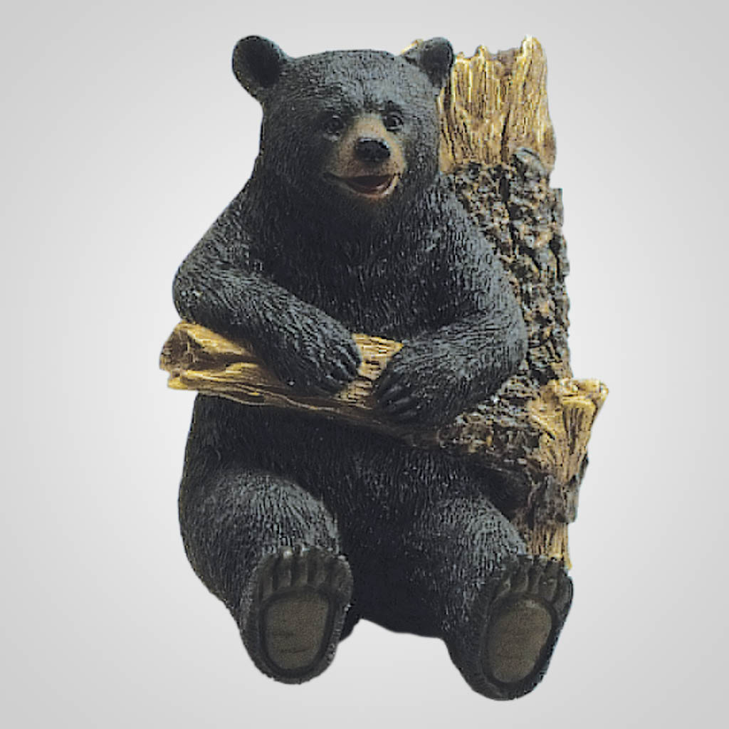 19138 - Bear On Branch Wall Hook