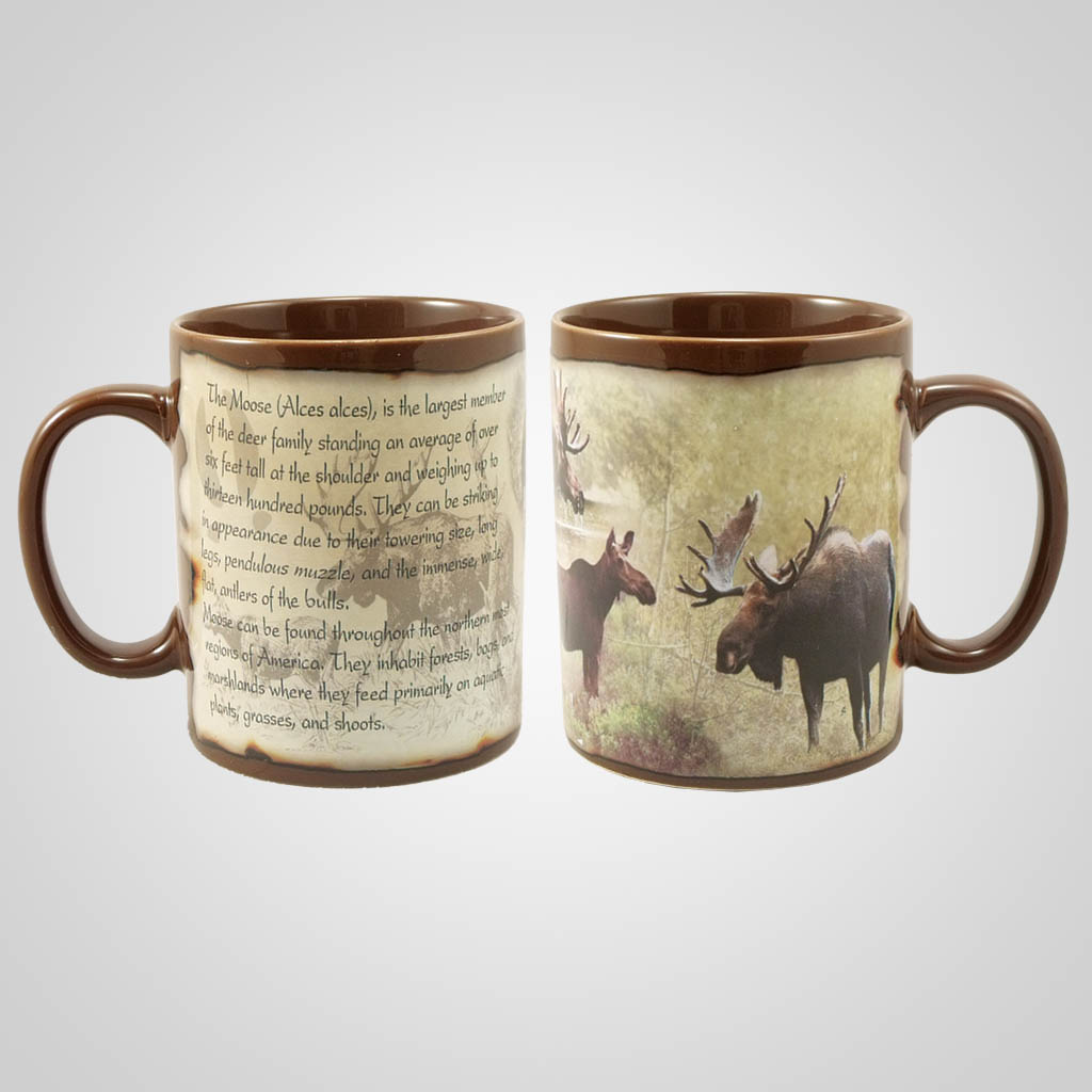 19204 - Moose Full Wrap Mug, plain
