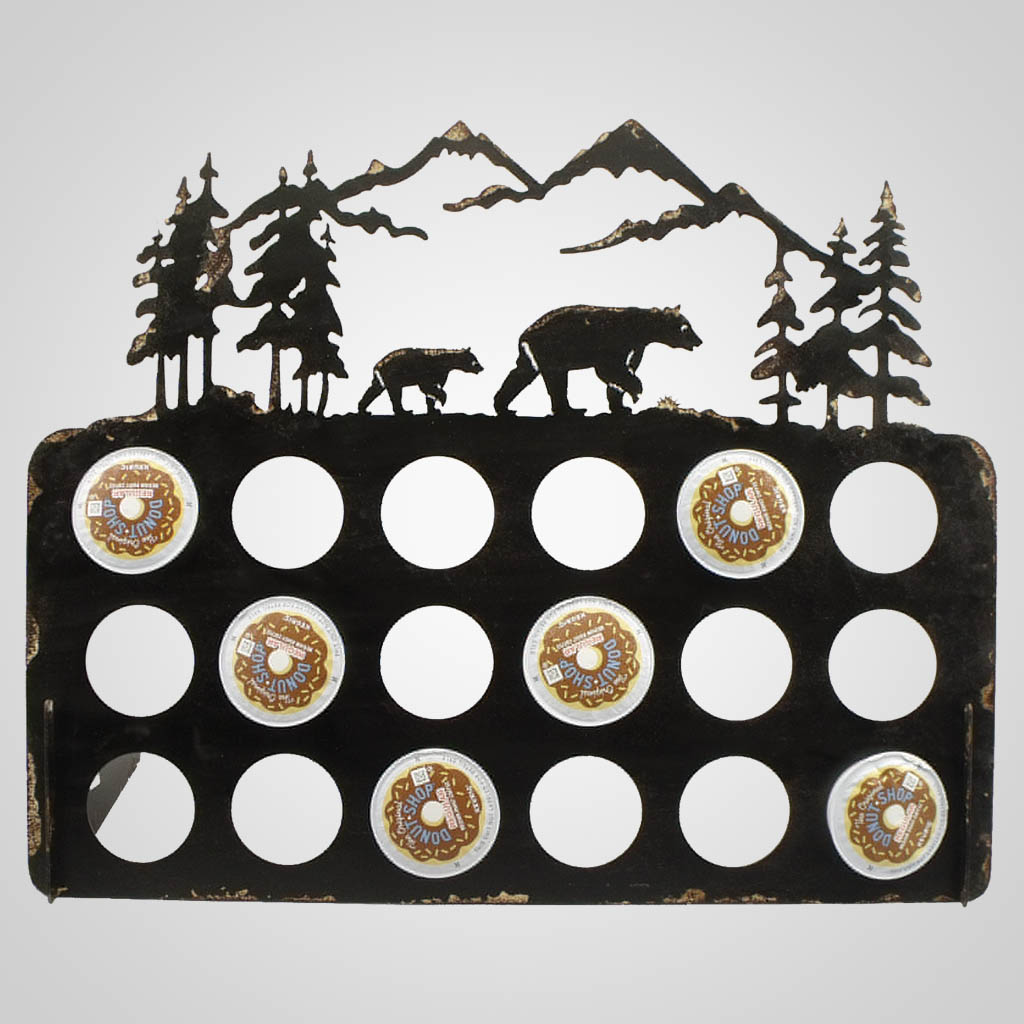 19314 - Bear Coffee Pod Holder
