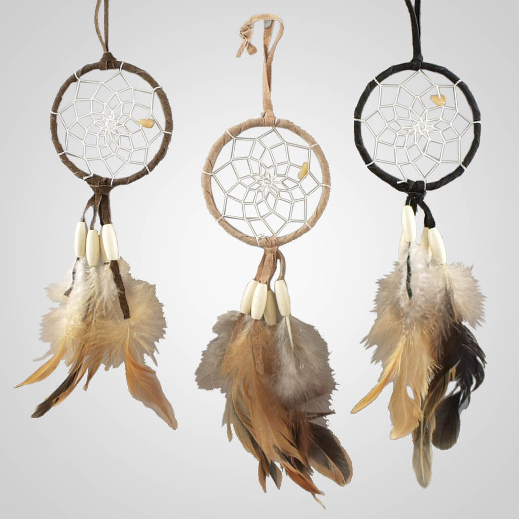 19334 - Long Beads Dreamcatcher