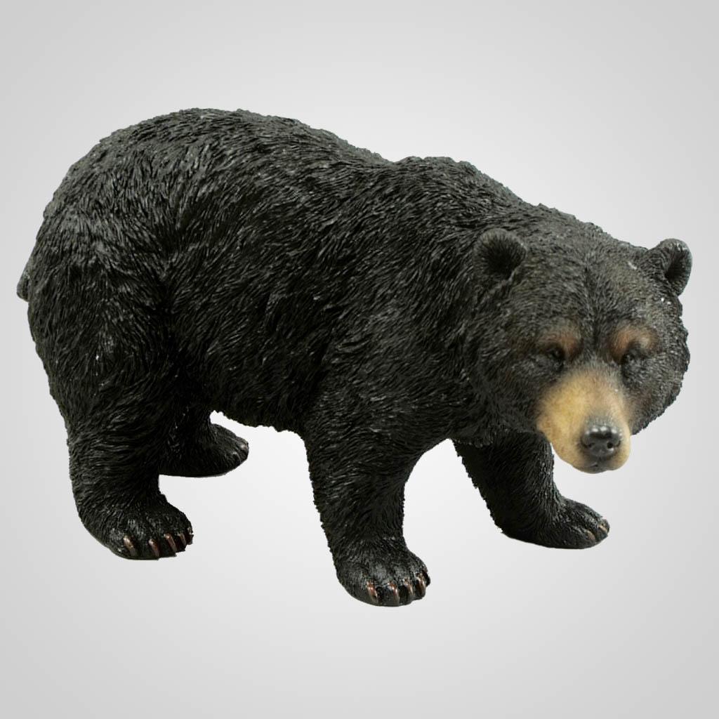 19336 - Black Bear Garden Figurine
