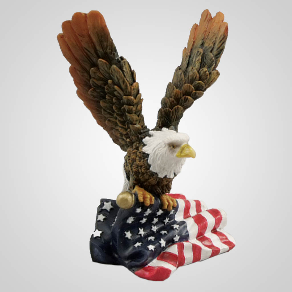 19357 - Eagle With Flag