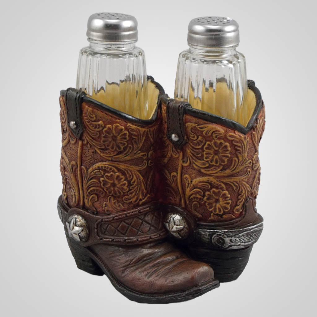 19361 - Cowboy Boot Salt & Pepper