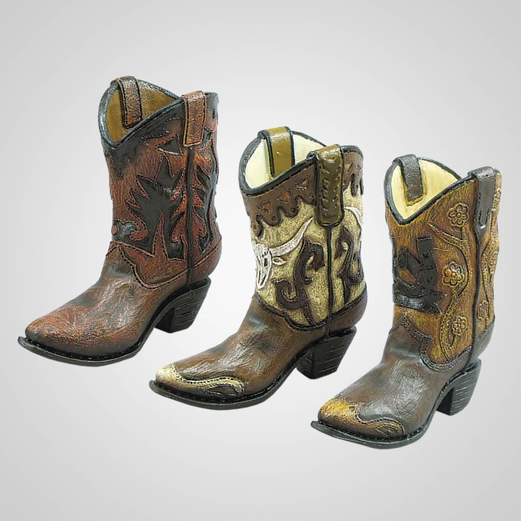 19370 - Cowboy Boot Figurine